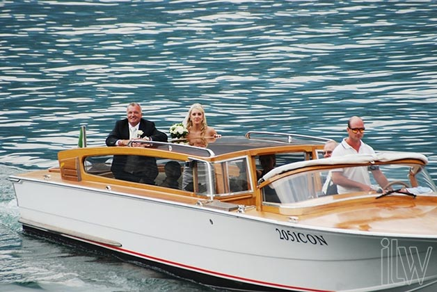 weddings on lake Como