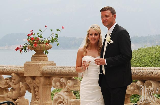 wedding ceremony at Villa del Balbianello lake Como