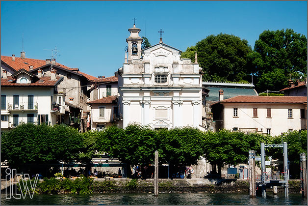 church of San Vittore weddings on Isola Bella