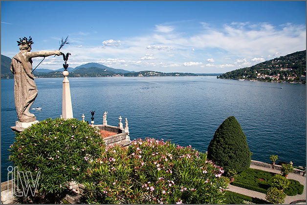 open air weddings on Isola Bella lake Maggiore