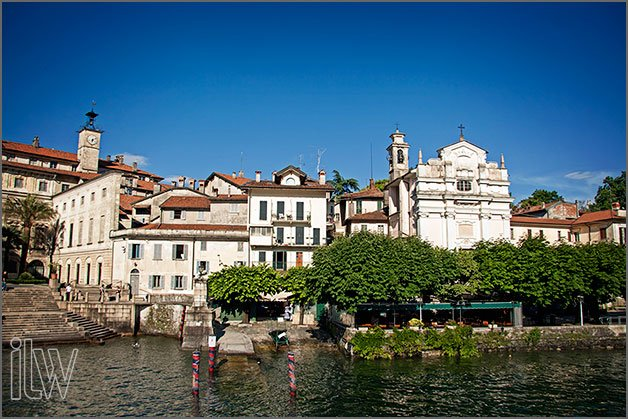 church wedding on Isola Bella Lake Maggiore