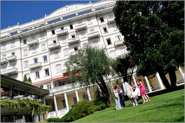 Grand Hotel Majestic lake Maggiore wedding venue