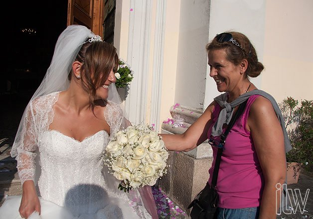 wedding florist on Isola Bella lake Maggiore