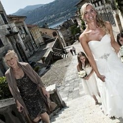 Just Married: Francesca and Adrian's wedding on Lake Orta!