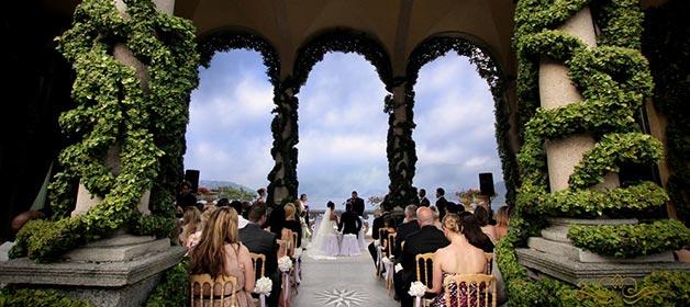 A fabulous wedding on Lake Como