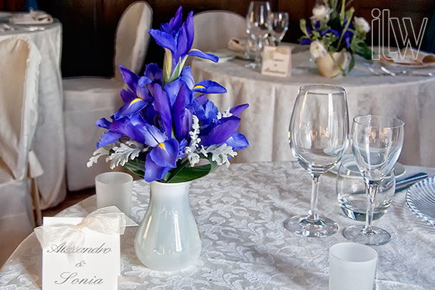 Blue-Iris-Centerpiece