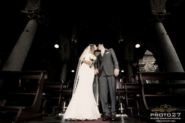 church wedding in Orta