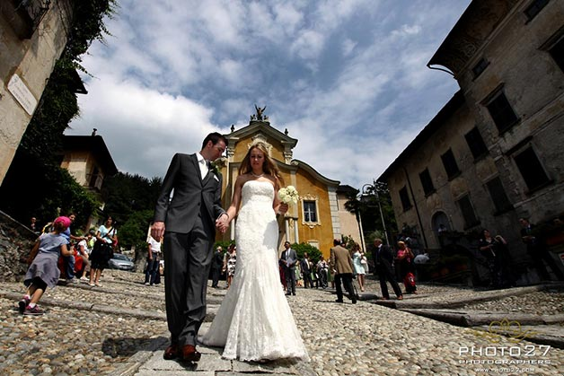 Maria Assunta church weddings in Orta