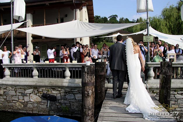 wedding at Orta Beach Club