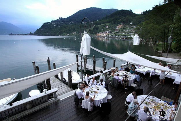Beach Wedding On Lake Orta Italy