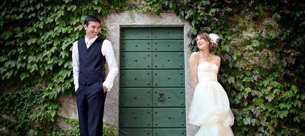 Catholic Wedding on Lake Como, Church of Varenna