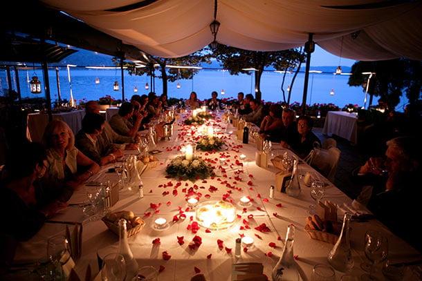 02 Wedding Receptions On St Julius Island Lake
