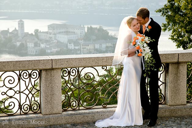 Why getting married on Lake Orta