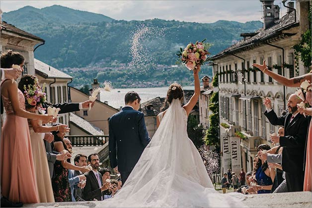Assunta church - Catholic ceremony on Lake Orta