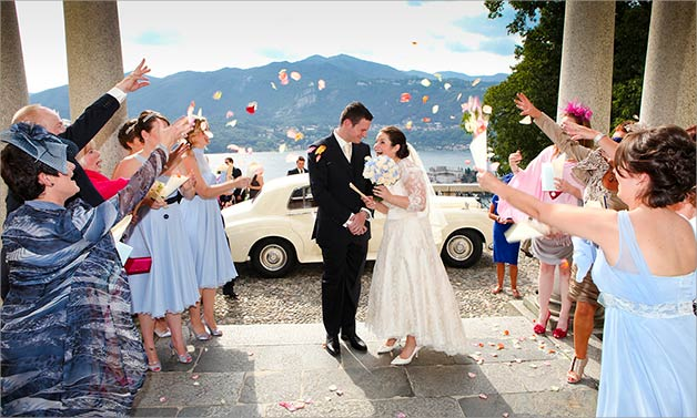 wedding at Sacro Monte church of Orta