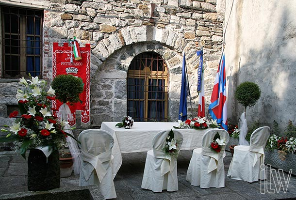 Wedding at Medieval House of Pettenasco