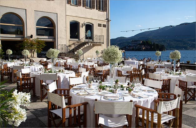 wedding reception at Hotel San Rocco