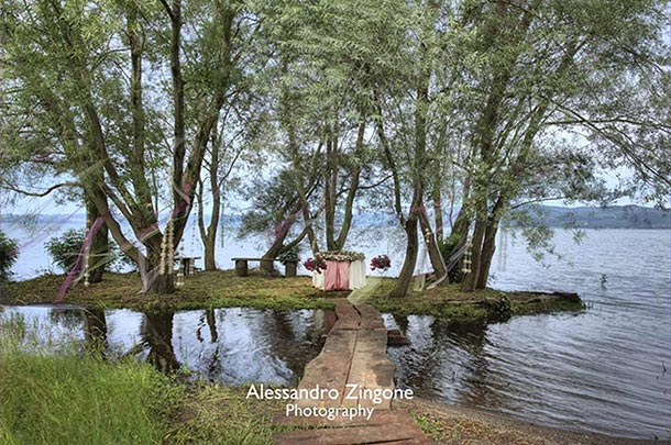 outdoor-garden-wedding-in-Bracciano-Rome