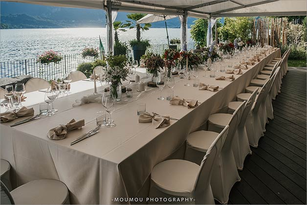 Wedding reception at Ustaria Ca Dal Rat