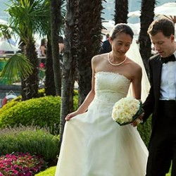 From Singapore to Locarno: Kiki and Georg's big day on Lake Maggiore!