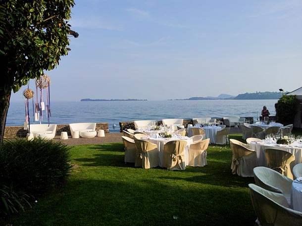 Lake garda weddings for Canape lake park