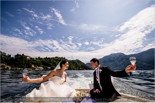 Comacina Island wedding, lake Como