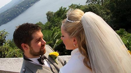Kerry and Alistair's wedding – Lake Orta