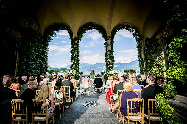 Legally binding ceremony Villa Balbianello