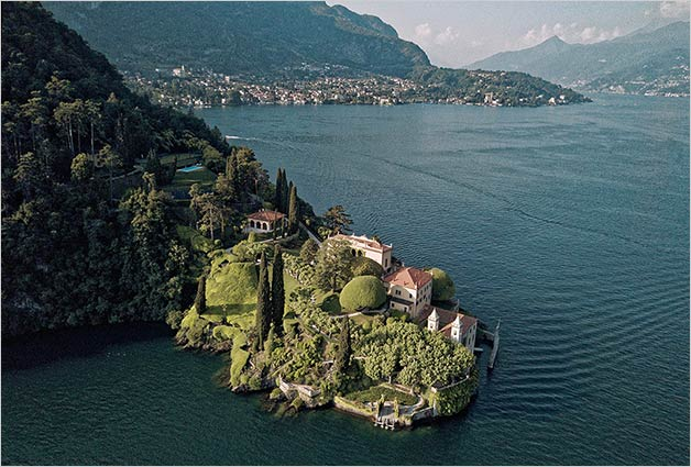 Destination wedding on Lake Como