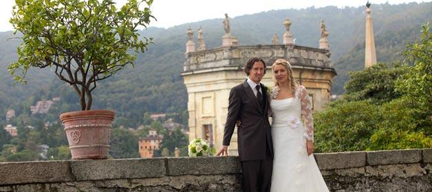 Private Trauzeremonie in der Villa Volpi – Private ceremony at Villa Volpi