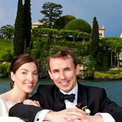 Getting married on Lake Como