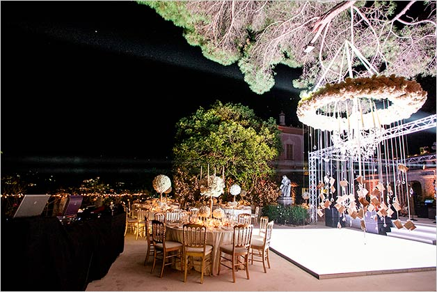Luxury wedding on Lake Como