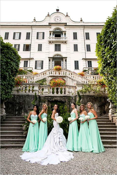 wedding in Villa Carlotta, lake Como