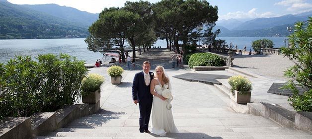 Stresa, Borromeo Island and Baveno, three destinations on Lake Maggiore for a romantic wedding