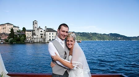 Charlotte and Steven's wedding – Lake Orta