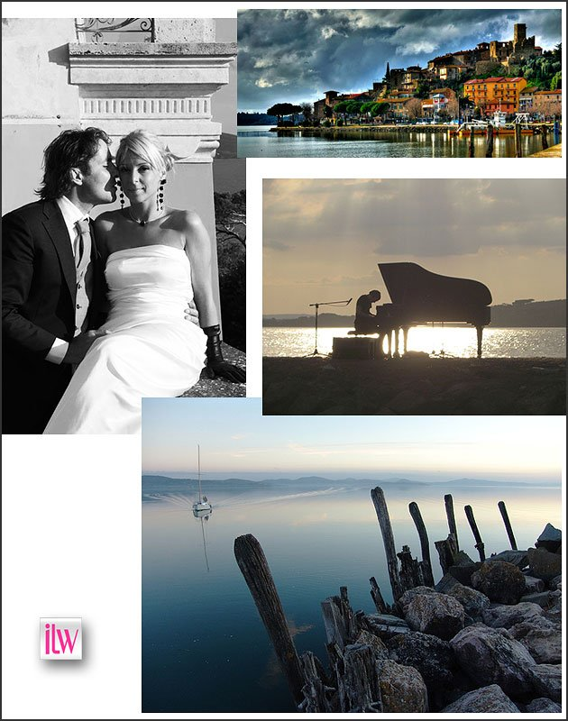 Wedding planner for Lake Trasimeno and Umbria