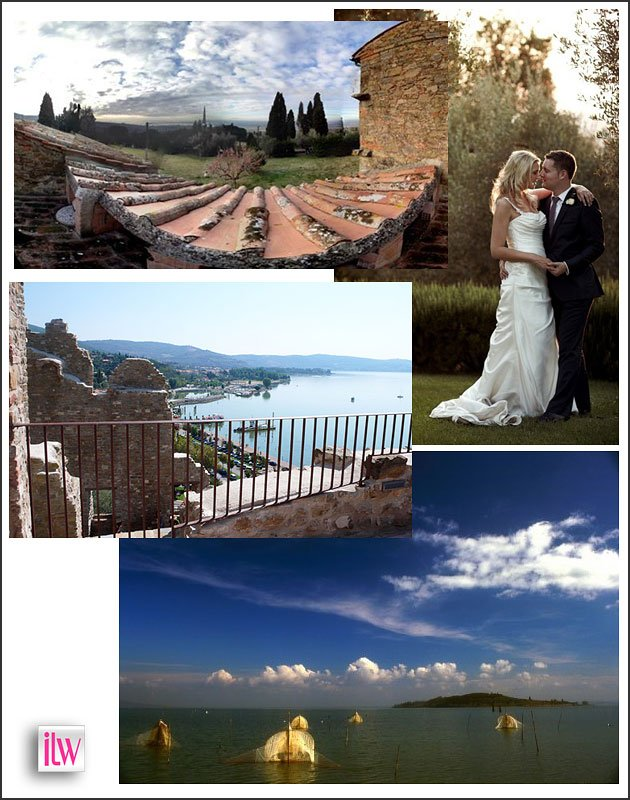 Lake Trasimeno weddings