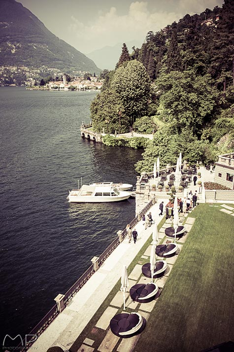 Resort wedding Lake Como