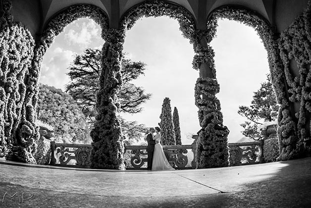 WEDDING COCKTAIL IN THE GARDENS OF VILLA DEL BALBIANELLO