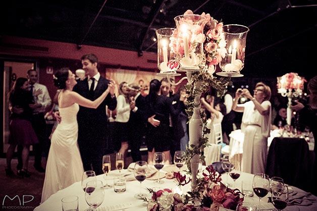 wedding reception at Casta Dive Resort