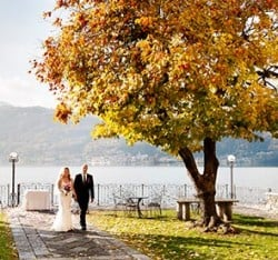 An Autumn Wedding on Lake Orta