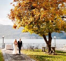 An Autumn Wedding on Lake Orta