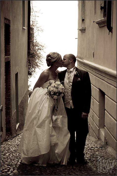 Malcesine castle wedding