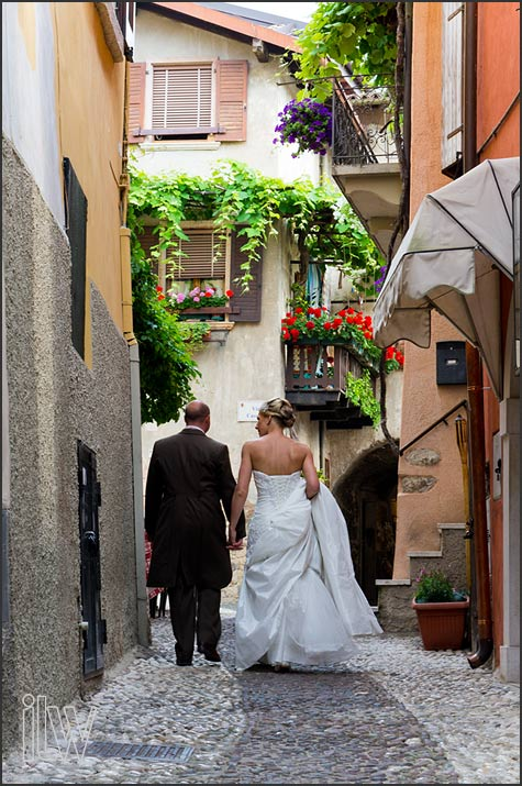 Malcesine castle wedding