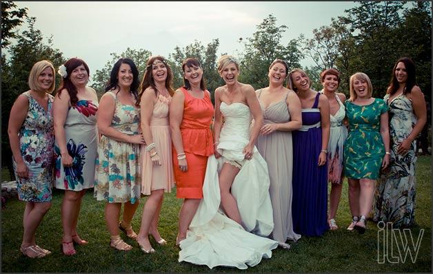 wedding reception in Malcesine