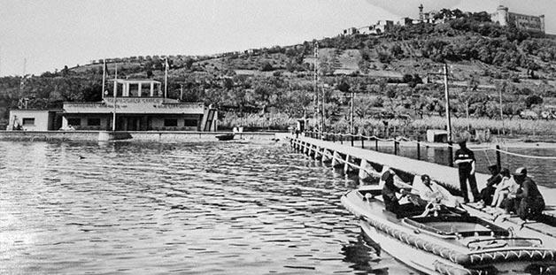 Sabazia-motorboat-lake-Bracciano-wedding