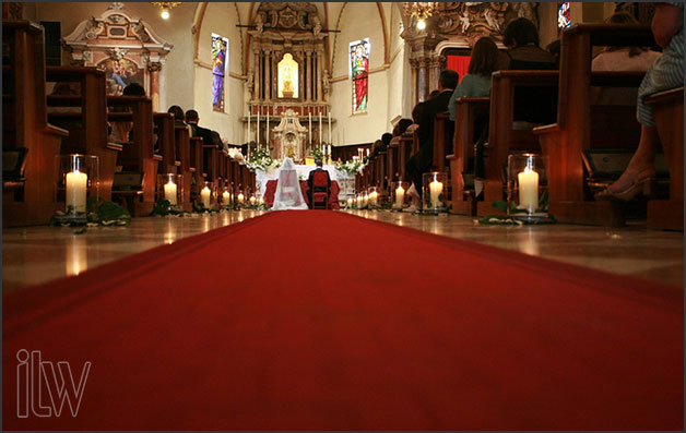 wedding at church of Santa Maria della Neve in Sirmione