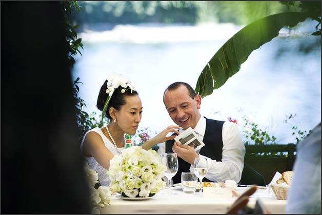A Japanese Wedding on Lake Maggiore Italy : 18wedding reception at Verbano restaurant on Pescatori Island from www.italianlakeswedding.com size 628 x 419 jpeg 34kB
