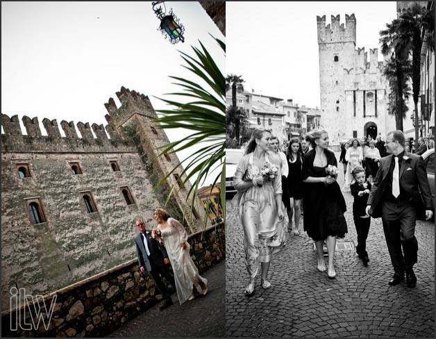 Sirmione castle weddings