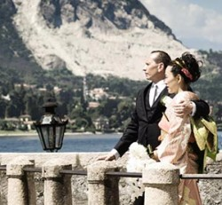 A Japanese Wedding on Lake Maggiore